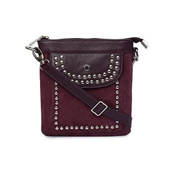 Phive Rivers Women's Leather Crossbody Bag -PRU1333