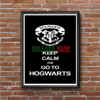 Keep Calm and Go to Hogwarts Photo Poster
