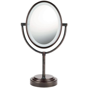 Lighted Mirror Bronze