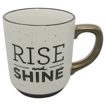 Threshold Speckle Mug - Rise and Shine : Target