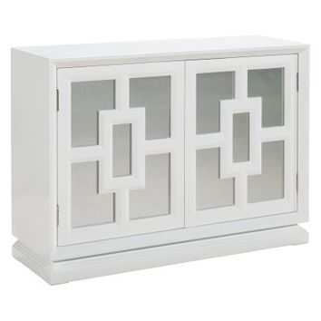 Pulaski Furniture Modern White Wine Cabinet - Wine Furniture at Hayneedle