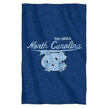 North Carolina UNC Tar Heels NCAA Script Sweatshirt Material Poly/Cotton Throw
