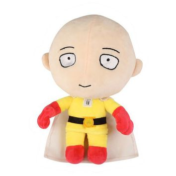 One Punch Man Plush Stuffed Soft Kids Toy