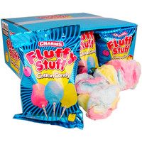 Charms Fluffy Stuff Cotton Candy 1-Ounce Packs: 12-Piece Box