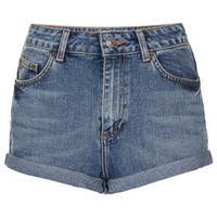 Vintage High Waisted Hotpants - Denim  - Clothing