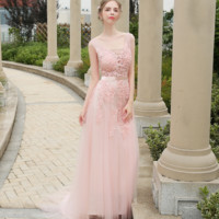 New bridesmaid sisters group summer bride toast service was thin banquet evening dress simple long dress