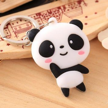 Keychain Panda  Cartoon Kung Fu  Hanging Soft