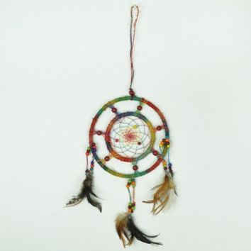 Double Rainbow Dream Catcher