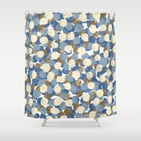 Winter Celebration Shower Curtain by Kat Mun