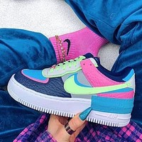 Nike Air Force 1 Shadow Newest Women Men Casual Sport Running Shoes Sneakers