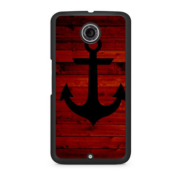 Wood and Anchor Nexus 6 case