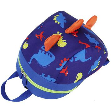Toddler Backpack class Teenage Baby Boys Girls Kids Dinosaur Pattern Animals Backpack Toddler Leisure Bags School Travel Zipper Bag B#ship AT_50_3