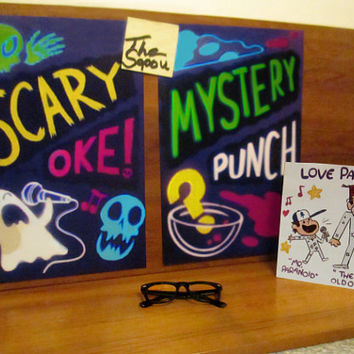 Gravity Falls Scary-Oke & Mystery Punch poster set
