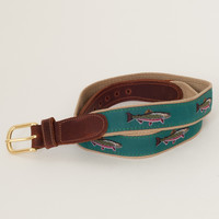 Preston Leather - Teal Brook Trout Belt