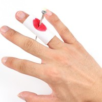 Prank Joke Toy Fake Nail Through Finger Trick Halloween Kids Children Gags Practical Jokes Trick Magic Props April Toy