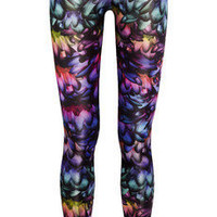 Aminaka Wilmont | Printed satin-jersey leggings | NET-A-PORTER.COM