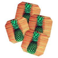 Chelsea Victoria The Pineapple Coaster Set