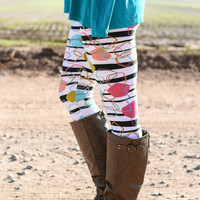 PLUS SIZE PARTY ANIMAL LEGGINGS