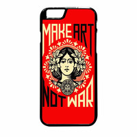 Obey Make Art Not War iPhone 6 Plus Case