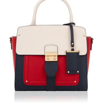 Accessorize | Mini Gina Handheld Bag | Red | One Size