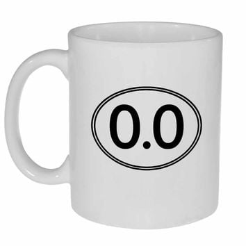 Anti Marathon Runner 0.0 Coffee or Tea  Mug