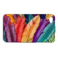 Beautiful Bird Feather Cute Rainbow Phone Case Cover iPhone Cool Custom Girly