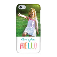 Crayon Hello iPhone 5c ColorStrong Slim-Pro Case - Cherishables