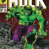 The Incredible Hulk Comic Poster