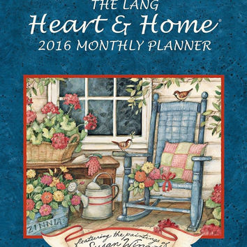 Lang Heart and Home 2016 Monthly Planner by Susan Winget January 2016 to Marc...