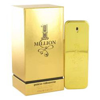 1 Million Absolutely Gold Cologne By PACO RABANNE FOR MEN Pure Perfume Spray 3.3 oz