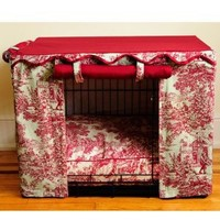 BOWHAUSNYC Toile Crate Cover, Large