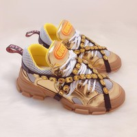 Gucci Flashtrek Sneaker With Removable Crystals #1216