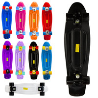 Penny Style Nickel Cruiser Board 27 inch Complete Plastic Skateboard