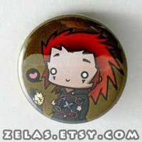 Kingdom Hearts - Axel Button