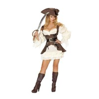 Roma Costume 4529 4Pc Naughty Ship Wench Costume