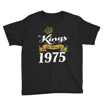 kings are born in 1975 Youth Tee