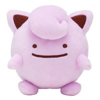 [Japan Pokemon Center Limited] Plush Doll Transform Ditto Jigglypuff