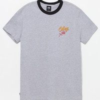 OBEY Careless Whispers Black and Gray Premium T-Shirt at PacSun.com