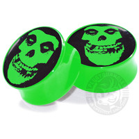 Misfits Green - Image Plugs - COLLECTORS - 1/50