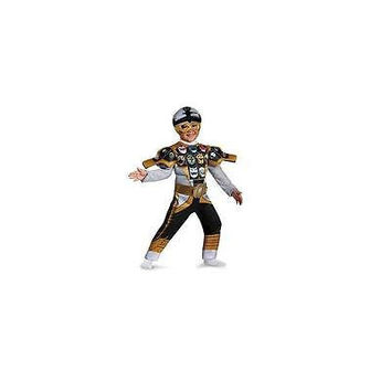 Disguise Power Rangers Super Megaforce Silver Ranger Toddler Costume 2T