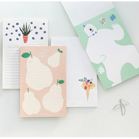Livework Breezy day cute illustration memo notepad