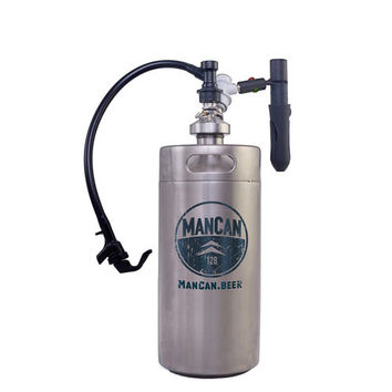 ManCan 128 Flex Mini Beer Keg Kit