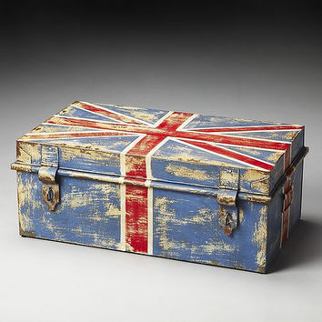 Butler Specialty Union Jack Storage Trunk - 3121025