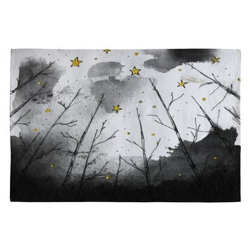 Deniz Ercelebi Woods And Stars Woven Rug