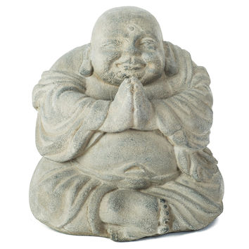 Volcanic Ash Namaste Blissful Buddha, Figurines & Animal Figures
