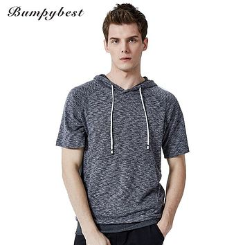 Men's Solid Camisoles Hombre Male Casual T shirts Summer Breathable Jogger Tee shirts
