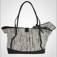 MORTON + HUDSON - The Ajax Tote - Alabaster