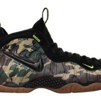 NIKE AIR FOAMPOSITE PRO PRM LE FOREST/BLACK 587547-300 (US Shoe Size (Men's): US 13)