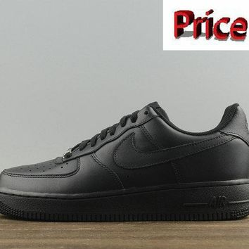 Latest Nike Air Force 1 Low 07 Black Wmns Skate Sneaker 315115-038 shoes