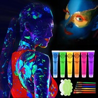 Colorful Face / Body Paint Neon Colors